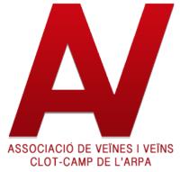 Logo Associació de Veïnes i Veïns clot-Camp de l'Arpa